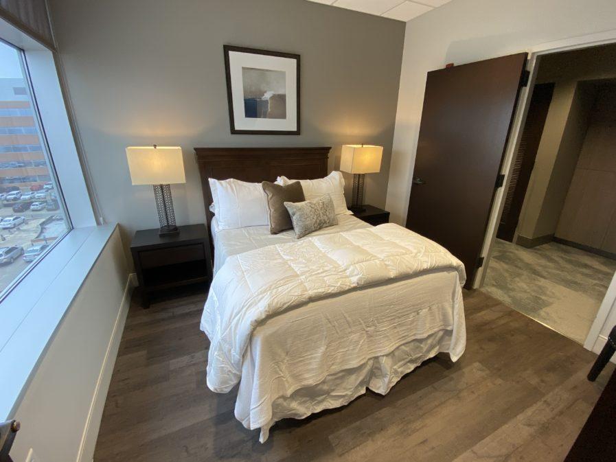 Full bedroom Ronald McDonald Family Room
