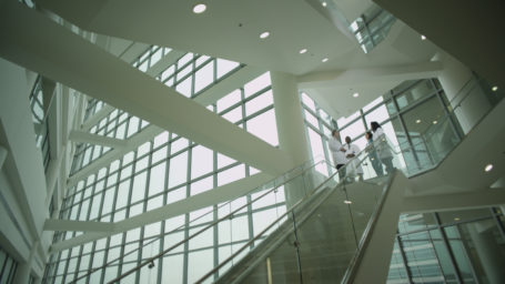 Staircase at UAMS