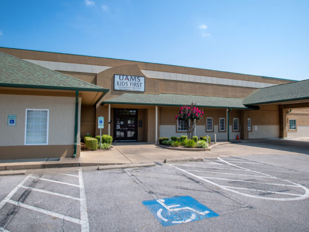 Exterior of Kids First in Fort Smith