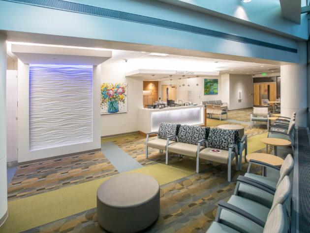 Breast Center's Lobby