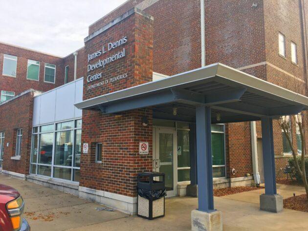 Exterior of Dennis Developmental Center