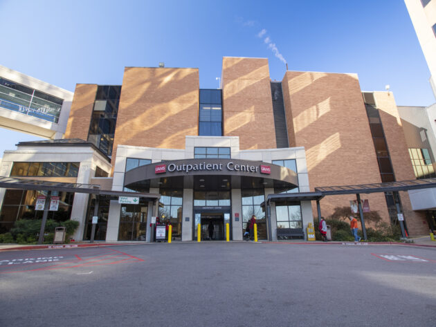 Exterior of Outpatient Center