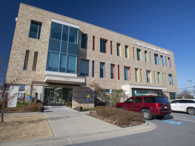 Exterior for The David M. Clark Center for Safe and Healthy Children