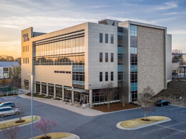 Exterior of the UAMS Health Women's Center
