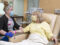 UAMS Health provider and patient in Infusion Center A